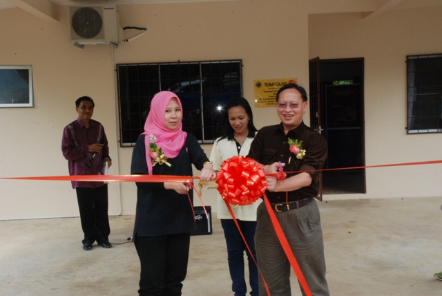 Official  launching quarters for the Borneo Rhino Sanctuary & Tabin Wildlife Reserve Program